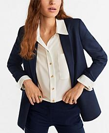 Linen Blazer Suit