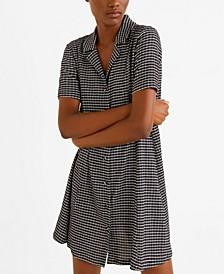 Shirt Textured Dress