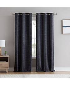 Obscura Townsville 100% Blackout Grommet Curtain Panels - Set of 2