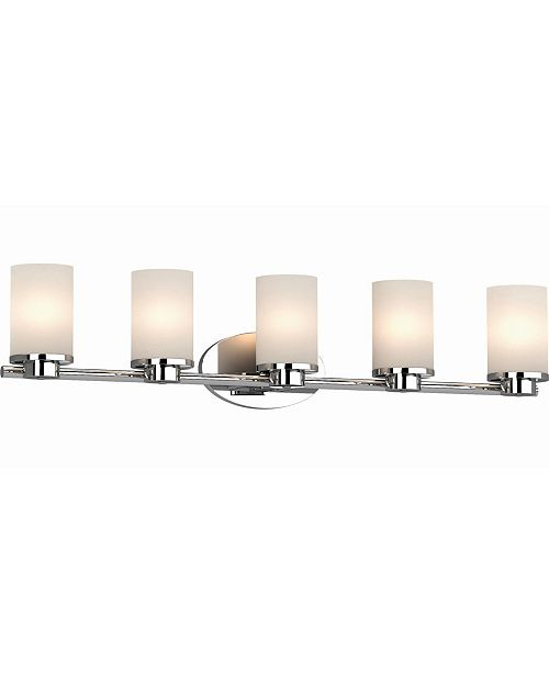 Volume Lighting Sharyn 5-Light Bathroom Vanity Wall Sconce or Wall Mount