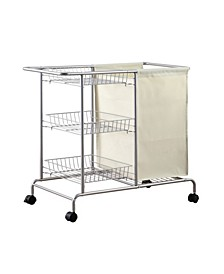 Home Rolling Laundry Cart