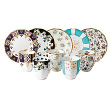 Royal Albert 100 Years 1900-1940 10-Piece Set,  Mug & Plate Assorted