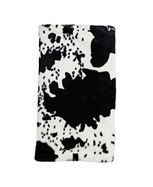 Cow Print Throw