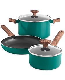 The Cellar Cabin in The Woods 5-Pc. Aluminum Cookware Set, Created For Macy's