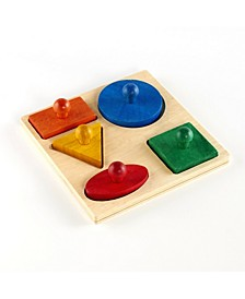 Guidecraft Geo Puzzle Board
