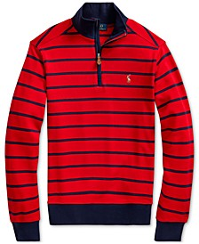 Big Boys Cotton Interlock Stripe Pullover