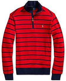 Polo Ralph Boys Cotton Interlock Stripe Pullover