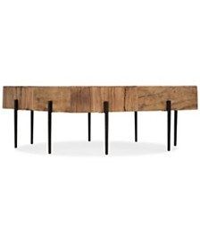 Quest Salvaged Wood Square Cocktail Table