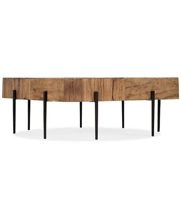 Hooker Furniture Quest Salvaged Wood Square Cocktail Table