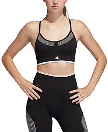 adidas PrimeKnit All Me Seamless Low-Impact Sports Bra