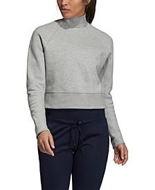 Varsity Cropped Sweatshirt