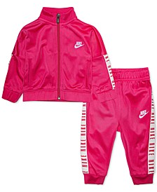 Baby Girls 2-Pc. Jacket & Jogger Pants Track Set