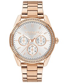 Women's Preston Rose Gold-Tone Stainless Steel Bracelet Watch 36mm