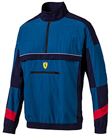 Men's Ferrari Half-Zip Jacket