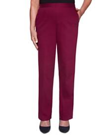 Petite Autumn Harvest Colored Denim Pants