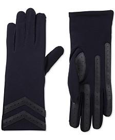 Isotoner smartDRI® Chevron Stretch Touchscreen Gloves
