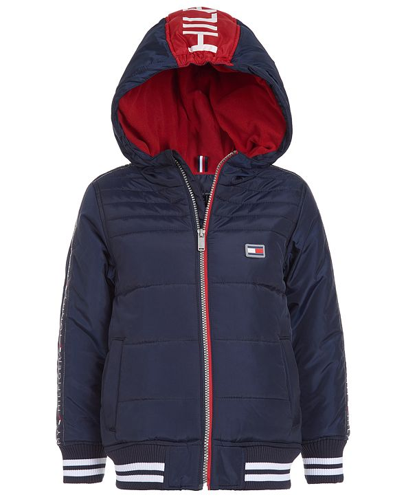 Tommy Hilfiger Baby Boys Kendall Hooded Jacket