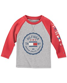 Tommy Hilfiger Baby Boys Logo Raglan T-Shirt