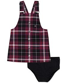 2-Pc. Baby Girls Plaid Skirtall & Panty Set