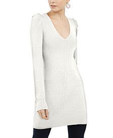 INC Puff-Sleeve Sweater Tunic, Created For Macy's