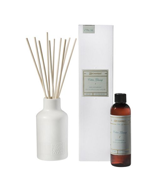 Aromatique Cotton Ginseng Reed Diffuser