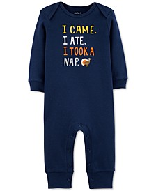 Baby Unisex Cotton Turkey Coverall
