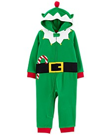 Toddler Boys 1-Pc. Elf Suit Dress Up Pajamas