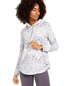 Snake-Print Rounded-Hem Hoodie, Created for Macy's