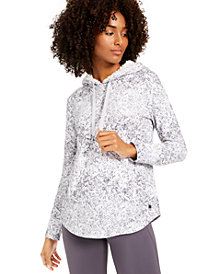 Ideology Snake-Print Rounded-Hem Hoodie, Created for Macy's