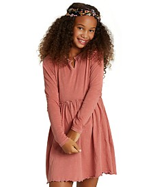 Billabong Big Girls Cotton Babydoll Dress