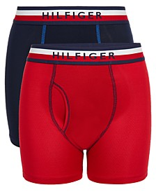 Little & Big Boys 2-Pk. Performance Boxer Briefs