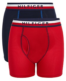 Tommy Hilfiger Little & Big Boys 2-Pk. Performance Boxer Briefs