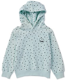 Volcom Toddler & Little Girls Knew Wave Heart-Print Hoodie