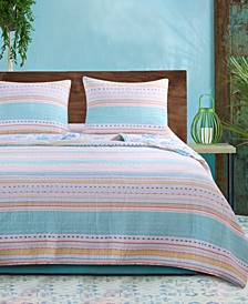 Pacifica Quilt Set, 3-Piece King