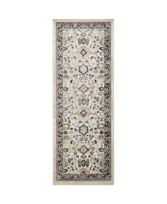 """New Weave Paige Ivory 2'6"""" x 7'2"""" Runner Area Rug"""