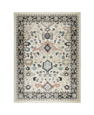 """New Weave Paige Ivory 1'8"""" x 2'8"""" Area Rug"""