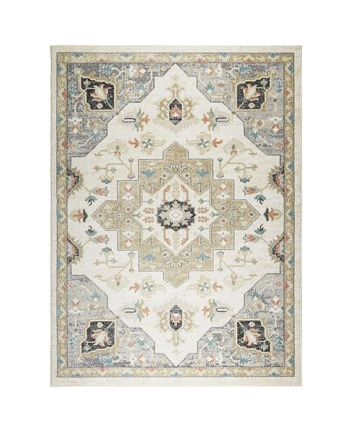 """Shabby Chic CLOSEOUT! New Weave Mariah Ivory 7'10"""" x 10'2"""" Area Rug"""
