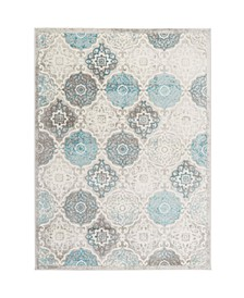 "Jano JAN01 Gray 7'9"" x 10'2"" Area Rug"