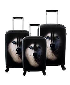 Husky 3-Piece Hardside Luggage Set