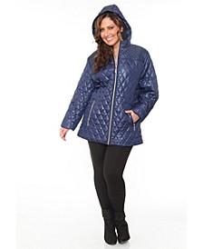 Plus Women's Puffer Coat
