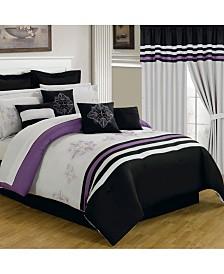 Baldwin Home 24 Piece Room-In-A-Bag Rachel Queen Bedroom Set