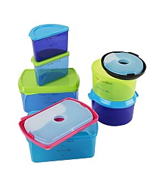 Kids 14 Piece Reusable Container Set