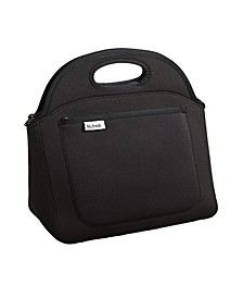 Rosewood Neoprene Lunch Bag for Adults and Kids, Lightweight, Washable, Zipper, Water Resistant