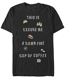 Twin Peaks Men's Excuse Me Short Sleeve T-Shirt