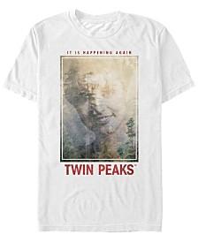 Twin Peaks Men's It Is Happening Again Short Sleeve T-Shirt