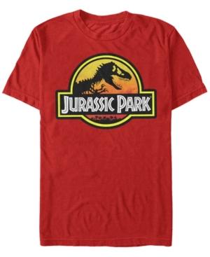 Men's Classic Logo Outlined Short Sleeve T-Shirt
