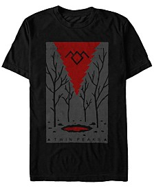 Twin Peaks Men's Painted Entrance Short Sleeve T-Shirt