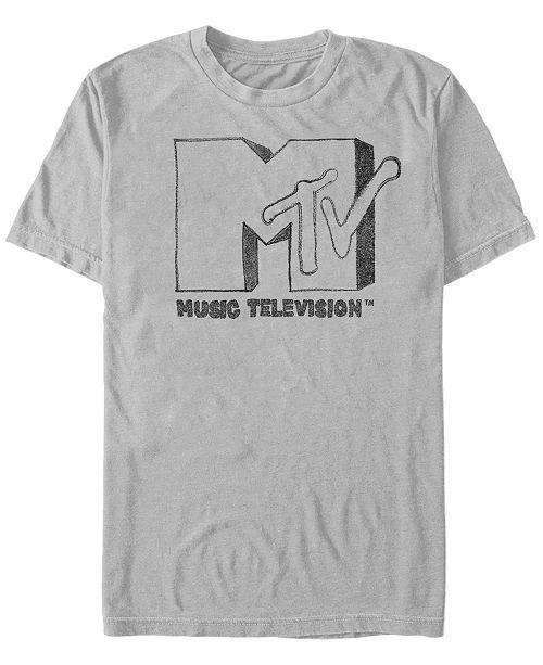 MTV Men's Sharpie Logo Short Sleeve T-Shirt