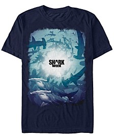 Discovery Channel Men's Shark School Short Sleeve T-Shirt