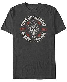 Sons of Anarchy Men's Redwood Original Grim Reaper Short Sleeve T-Shirt